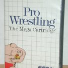 Pro Wrestling, the mega cartridge - Sega For Sega, 1986