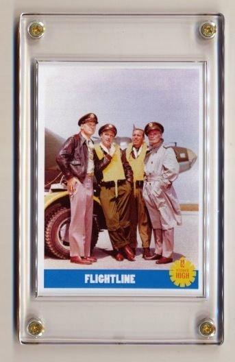 12 O'CLOCK HIGH 1964 TV Series Promo Series 2 TRADING CARDS #2 of 5! Beyond RARE