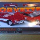 AMT 8325 CORVETTES 1957 & 1997 Plastic Model Car Kit 1/25