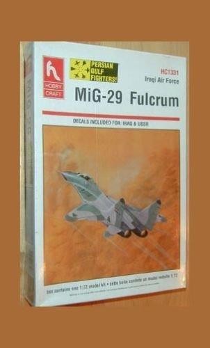 Hobbycraft Fulcrum Mikoyan MIG-29 kit~1/72 Iraqi or USSR versions