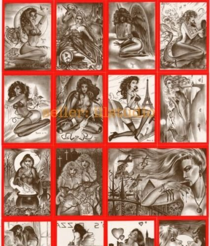 Don Paresi's Fantasy VAMPIRES & VIXENS Card Set w/all Specialty CHASE cards !