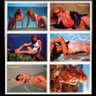 SWIMSUITS and MERMAIDS 6 ErROr Promos~the Set was RECALLED due to printing error
