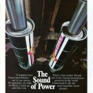 "Vintage THRUSH Mufflers ""The Sound of Power"" 1973 Advertisement +Bonus Ad FREE!"