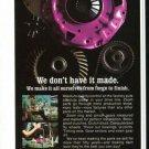 Vintage ZOOM Clutches Gears Flywheels 1973 Advertisement +Bonus Ad FREE!