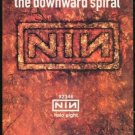 NINE INCH NAILS the Downward Spiral Original Trimmed Paper Advertisement 1994