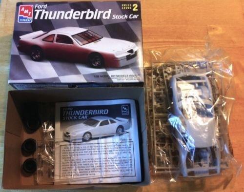 #6296 AMT Ford Thunderbird Stock Car 1/25 Scale Plastic Model Kit