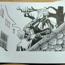 Steve Jackson Games Original ART #3 Sherlock Holmes 1800s detective