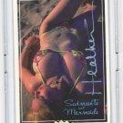 SIGNED Busty Amatuer BIKINI Card of the Swimsuits and Mermaids Set Steve Woron