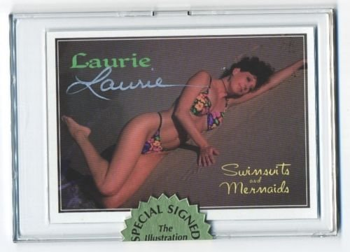 Super RARE! Swimsuit & Mermaids Mail-in SIGNED Card 1 of 3 Cards