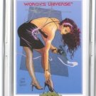 Steve Woron's MAGNUM GIRL Undistributed RARE Card Signed in Screwdown Holder
