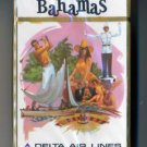 Vintage 1960s Delta Air Lines Playing Cards Pack BAHAMAS *sealed*