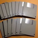 "15 Fifteen 3.5"" BLANK HD 1.4Mb PC Formatted FLOPPY DISKS~ Never Used~ FREE SHIP!"