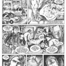 Don Paresi's Zombie Horror comic SEPULCHER #2 Walking Dead ORIGINAL ART Pg. 5~!