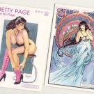 BETTY PAGE the 50's RAGE #2A and RARE 2B+Signed~~Buy from the Publisher Direct