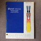 Pratt & Whitney DUAL AXIAL COMPRESSOR AFTERBURNING TURBOJET ENGINES Book 1957