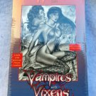 Don Paresi's Vampires and Vixen Trading Card Foil Box + 4 Card Promo Set