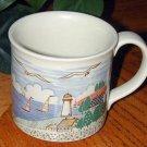 New England style CAPE COD Lighthouse Folk Art MUG