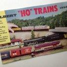 Vintage GILBERT HO MODEL RAILROADS TRAINS 1956 Catalog EXC Condition