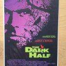 The DARK HALF Original Trimmed Paper Movie Advertisement 1993 George A. Romero