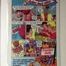 CRACKER JACK STORY art by Neal Adams Original Trimmed Paper Advertisement 1983