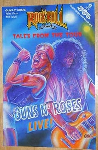 GUN 'N' ROSES 1991 ROCK N ROLL Comics #43~Hard to Find-NM Condition! 1st Printg