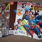 ACTION COMICS DC Superman in 740,756,747,645,654 All NM+Free Signed Trading card