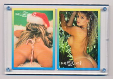 Becky Sunshine/Melissa  in BareASSentials Set 2 Promo Cards-Great BUTT Discovery