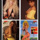 ROCK STREET VIXENS PROMO trading cards~Page 3 girls -SEXY GIRLS 1992?