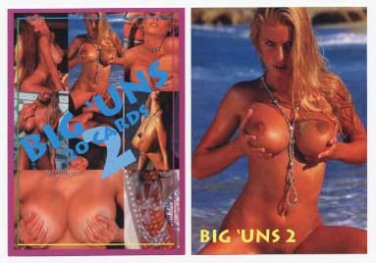 Super Busty Boobs** BIG UNS set 2 of 3 Adult Trading Card Set* WOW!