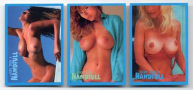 Super Busty Boobs MORE THAN a HANDFUL Promo Card Set- Big BREASTS cards