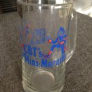 """CBT's MINI-MARATHON"" Large Tall Oversized Glass MUG"