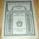 MUSIC MASTERY SERIES-2nd Grade Melodic Studies~1915 PA.