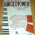 John Schaum Fingerpower-PrepBook for Piano/Organ
