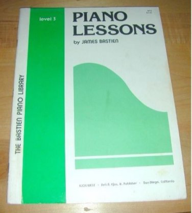 1979 Piano Course-James Bastien/Book 3/ 48 pgs