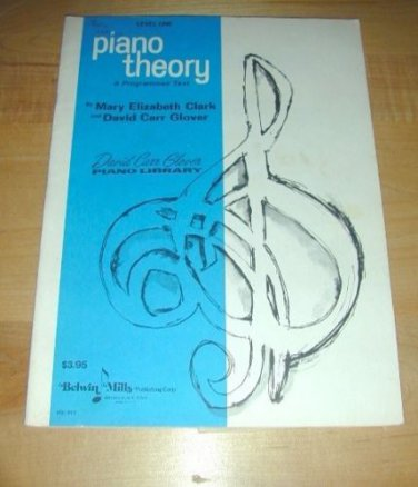 Level 1 Piano Theory; A Programmed Text -Piano Library