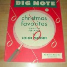 BIG NOTE Christmas Favorites Simplified for Piano 1948