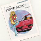 SIGNED Steve Woron's Sexy 1990 CHECKLIST+Vampirella,Phoenix +More Signed cards!