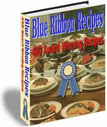 490 Blue Ribbon Recipe Book