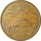 1968 20 Centavos