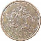 1995 1 Cent Barbados