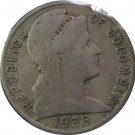 1938 Colombia 5 Centavo