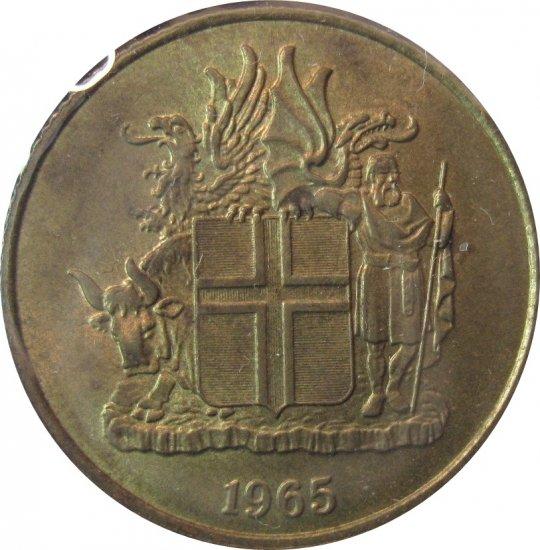 Iceland 1965 1 Krona