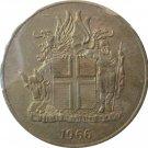Iceland 1966 2 Kronur