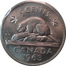 1963 Canadian 5 Cent