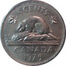 1975 Canadian 5 Cent