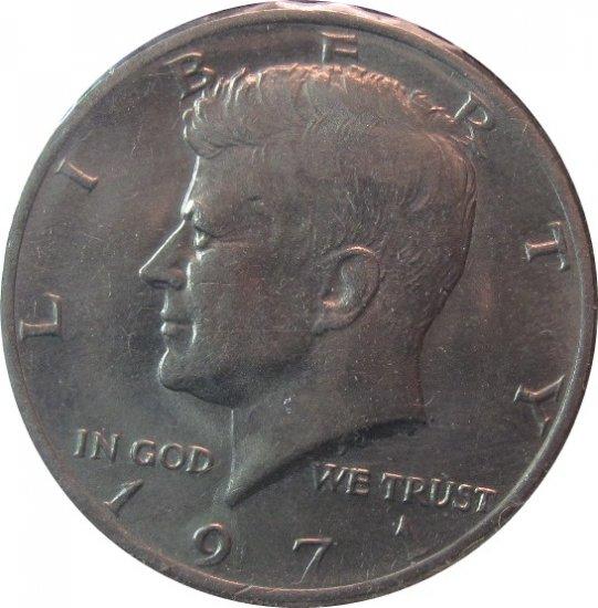 1971 Kennedy Half (dan)