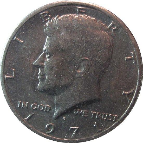 1971  D Kennedy Half (dan)