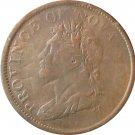1824 Nova Scotia 1 Penny Token