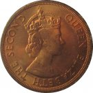1965 East Caribbean State 2 Cent