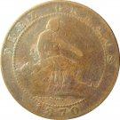 1870 Spain 10 Centimos